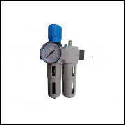 Conjunto Filtro Regulador Lubrificador 16 bar